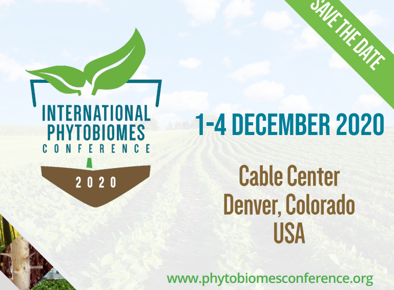 International Phytobiomes Conference in 2020